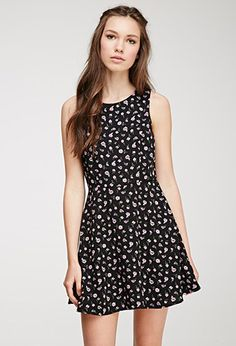 Ditsy Floral A-Line Dress | FOREVER21 - 2052288466