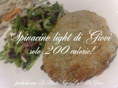 Spinacine light di Giovi (solo 200 calorie! )