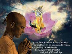 krishna quotes | Positive Effects of Loving Krishna | Hare Krishna Quotes