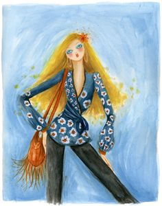 (••)                                                                 fashion illustration