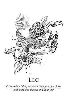 I'm in love with this super-dark horoscope illustration for Leo. Zodiac Art, Leo Zodiac, Zodiac Signs, Zodiac Cancer, Leo Horoscope, Astrology Zodiac, Astrology Signs, Dark Astrology, Astrology Meaning