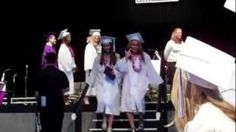 Girl Turns #FAIL Into #WIN At Her #Graduation - #funny