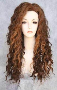 Loose spiral curls