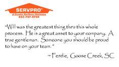 Thank you, Ferdie! ~ Goose Creek, SC