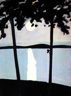 Night Painting, Maine - Alex Katz