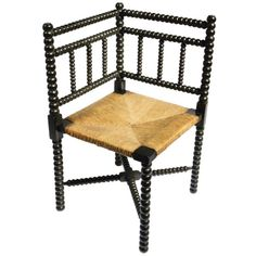 English Corner Chair | From a unique collection of antique and modern corner chairs at https://www.1stdibs.com/furniture/seating/corner-chairs/
