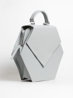Audrey Grey Bag by Nina Hauzer | Architect's Fashion