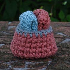 Passer til Maileg og som dukketilbehør Crochet Hats, Beanie, Pattern, Baby, Model, Newborn Babies, Beanies, Infant, Baby Baby