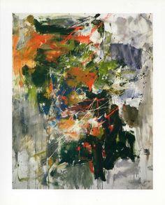 Untitled, 1962 - Joan MitchellI