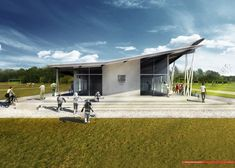 Copeland Associates Architects Design New Soccer Clubhouse in Auckland