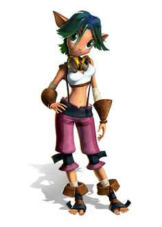 Keira Art - Jak & Daxter: The Precursor Legacy Art Gallery Cartoon Video Games, Video Games Girls, Video Game Characters, Game Character Design, Character Art, Crash Bandicoot Characters, Different Drawing Styles, Jak & Daxter, Nostalgic Pictures