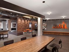 Raw and Sophisticated Design forTough Mudder's Brooklyn Headquarters - http://www.interiorredesignseminar.com/interior-design-inspirations/raw-and-sophisticated-design-for-tough-mudders-brooklyn-headquarters/