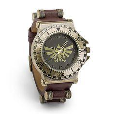 Legend of Zelda Leather Watch - Exclusive