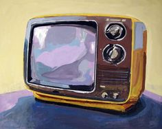 Contemporary paintings of everyday vintage objects from the 1950s, '60s and '70s | Creative Boom