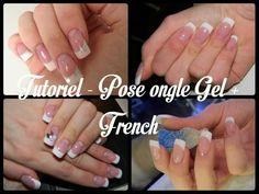 Tuto #18 Pose d'ongles en gel sur ongles naturels - YouTube