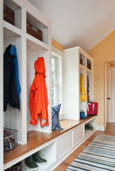 Using Lockers in Your Home: Help children be organized when they walk in!