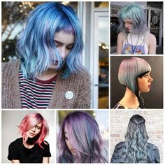 Top 20 preeminent hair color ideas page best trends inventiv Hair Color Dark, Ombre Hair Color, Blonde Color, Hair Colors, Spring Hairstyles, Bob Hairstyles, Photomontage, Multicolored Hair, Colored Hair Tips