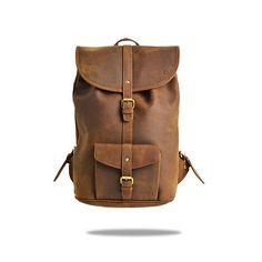 sac à dos homme et femme - sac à dos tendance - sac à dos cuir - sac à dos vintage - FORBES & LEWIS - LINCOLN LEATHER VINTAGE