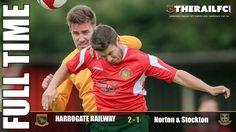FT: Harrogate Railway 2-1 Norton & Stockton Ancients FC    @therailfc @Edwhite2507 @NCEL #NCEL