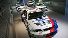 BMW Race Cars. As they say - I'll take one of each...