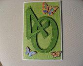 Happy Sweet 16 Birthday Card and Envelope. $7.50, via Etsy.