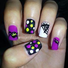 221 Best Halloween nail art images | Halloween nail art ...