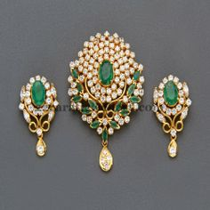 Jewellery Designs: Regal Pendant by Mangatrai Jewelry