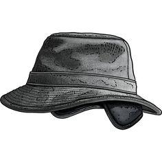 Men's Winter Wool Crushable Hat