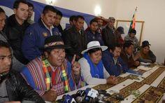 Bolivia Informa: Sectores sociales demandan a Comcipo abandonar la violencia e iniciar diálogo