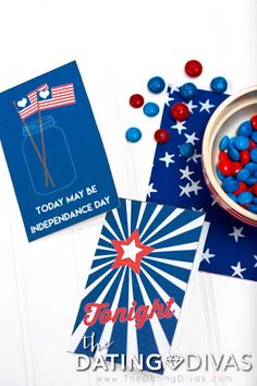of July Cards for Your Spouse - here's how you make the sparks fly in your relationship again! Free cards to print and give to your spouse as of July Love Notes! Free Cards To Print, Independence Day Wallpaper, Free Printable Cards, Dating Divas, Patriotic Party, Love Notes, Family Traditions, Fourth Of July, Card Making