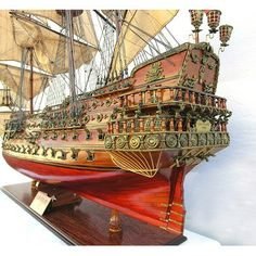 Old Modern Handicrafts San Felipe X-Large Limited Edition Ship