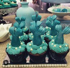 Cupcake sereia