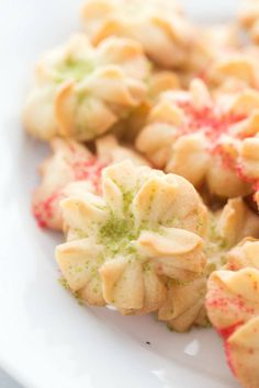 Easy Spritz Butter Cookies Recipe