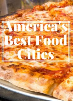 From haute dining spots and molecular gastropubs to comfort food favorites and no-frills taco stands, Americas best foodie cities have enough variety to satisfy every type of palate. We rounded up our top 10 destinations to eat from coast to coast.