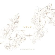 LELO Bridal Pleasure Set. Very classy, and  very enjoyable!  www.lelo.com/Bridal #LELOBridal #wedding