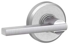 Schlage F10-LAT-GSN Latitude Passage Door Lever Set with Decorative Greyson Rose