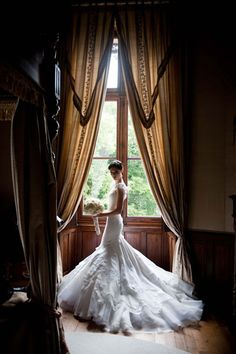 Quite possibly the most stunning dress I've ever seen... Coco Rocha's Zac Posen wedding gown