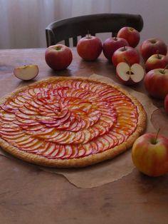 Französische Apfeltarte | La Crema Patisserie Food- und Backblog