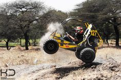 Dune Buggy stunts. By Kaizad Darukhanvala who is getting his degree in Photography.