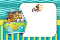 Scooby Doo Free Party Invitations TEMPLATES Scooby Doo Pinterest