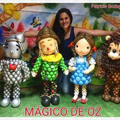116 отметок «Нравится», 13 комментариев — Patricia Godoy (@patricia_godoy_araucaria_pr) в Instagram: «#magicodeoz# #designerballoons# #euemeusbebês# #muitoamorenvolvido#»