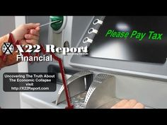 Central Bankers Are Quietly Discussing Taxing Withdrawals From ATM's – Episode 1138a | NewZSentinel