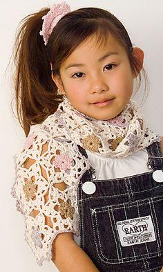 Ravelry: 29-29 Motif Crochet Shawl pattern by Pierrot (Gosyo Co., Ltd)