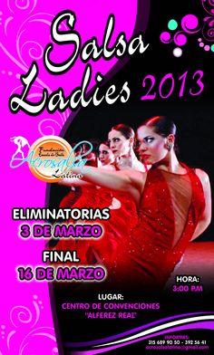 300 bailarinas de salsa listas para Salsa Ladies 2013