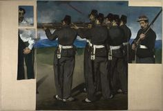 The Execution of Maximilian Édouard Manet c. 1867 - Google Search