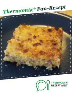 Kartoffelkuchen als Hauptgericht von Susanne24. Ein Thermomix ® Rezept aus der Kategorie Hauptgerichte mit Fleisch auf www.rezeptwelt.de, der Thermomix ® Community.