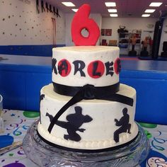 Martial Arts Birthday cake