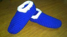 Crocheteando con Imaginación: Pantuflas unisex
