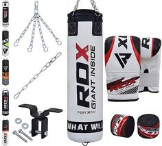 2. RDX 8pc Heavy Boxing Punch Bag