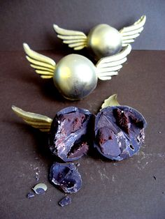Golden Snitch truffles.
